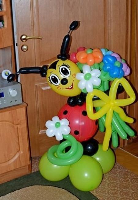 Поделки из воздушных шариков  для ребенка 161